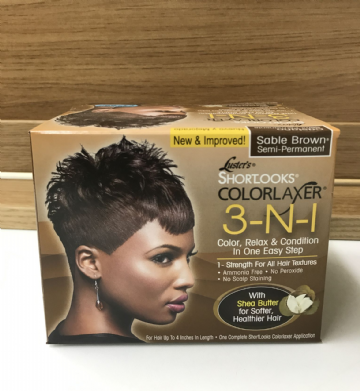 Luster's ShortLook ColorLaxer 3-n-1 Sable Brown Semi-Permanent
